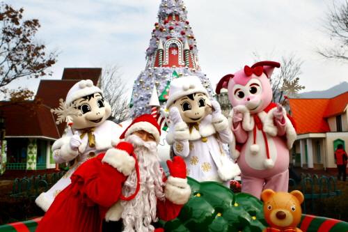 Pesta Natal Di Seoul Land