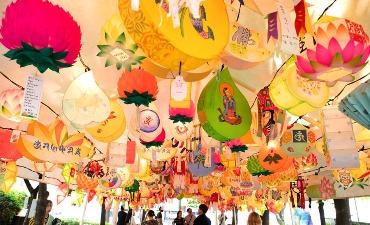 Festival Lentera Teratai, Merayakan Kebudayaan Tradisional Buddha