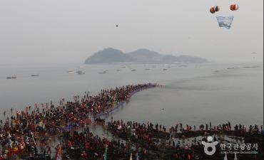 Festival Jalan Laut Keajaiban (진도 신비의바닷길축제)