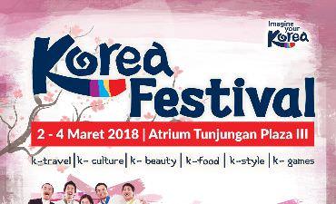 Korea Festival 2018 Digelar di Surabaya untuk Petama Kali