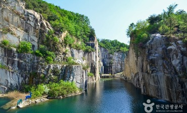 Pocheon Art Valley Pocheonseok Rocks-Hangtangang River Geopark