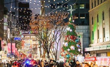 Kemeriahan Natal di Seoul