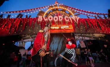 "Undangan Pesta Musik Halloween ""Klub Horor: Malam Mencekam"""