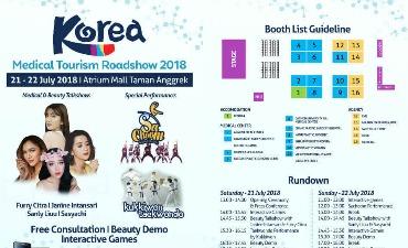 Korea Medical Tourism Roadshow 2018 (Pameran Wisata Medis dan Kecantikan Korea 2018)