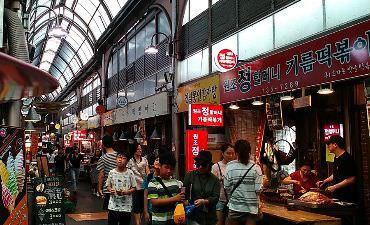 Pasar Tongin, Jajanan Unik dengan Sistem Dosirak