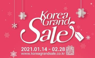 Nikmati Korea Grand Sale Online 2021!