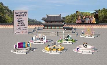 Photo_Korea Tourism Virtual Fair 2020 Dibuka