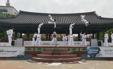 Saksikan Pertunjukan Taekwondo Luar Biasa di Desa Hanok Namsangol!