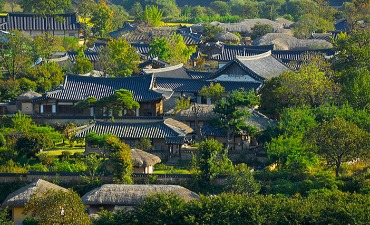 Desa Bersejarah Korea: Hahoe dan Yangdong (Ditetapkan tahun 2010)