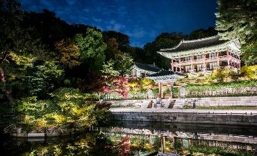 Wisata Cahaya Bulan di Istana Changdeokgung Dibuka
