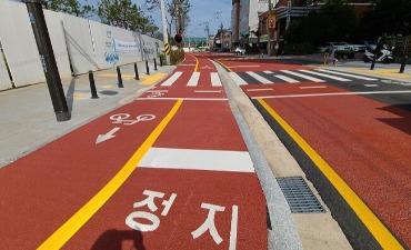 Jalur Sepeda Baru Dibuka di Seoul