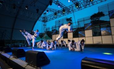 Festival Budaya Taekwondo mempersembahkan Pertunjukan Seni Bela Diri Korea