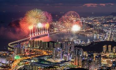 Festival Kembang Api Busan Merayakan KTT Khusus Korea-Asean