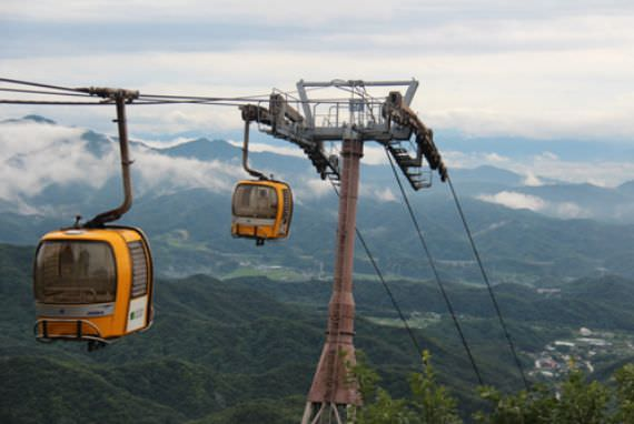 Palgongsan Cable Car