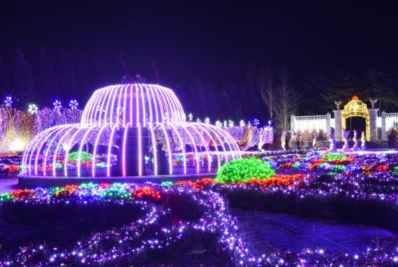 Festival Cahaya Taman Botani Byeokchoji