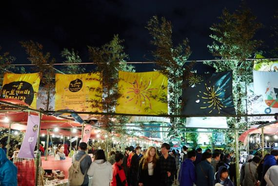 Dibuka Pasar Malam Bamdokkaebi Seoul
