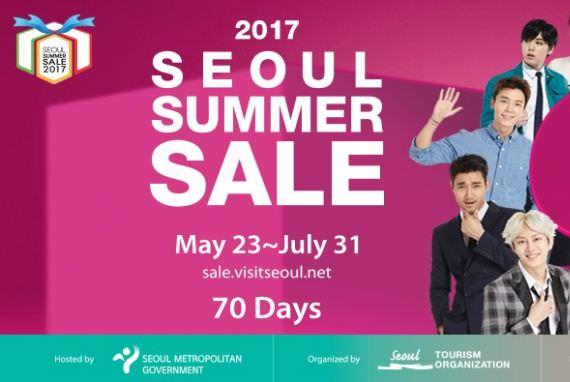Seoul Summer Sale 2017 Diselenggarakan sampai 31 Juli!