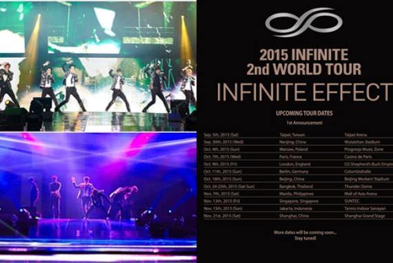 Pembukaan Tur Dunia Kedua Infinite akan Diselenggarakan di Taiwan