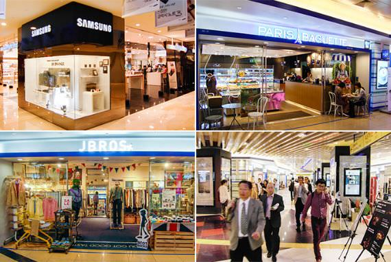 Terminal Gangnam Underground Shopping Center