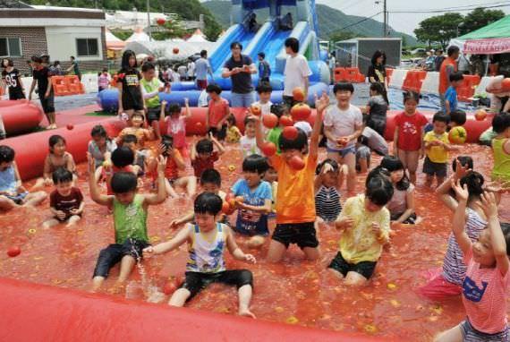 Festival Tomat Teochon Gwangju