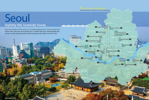 KTO Rilis Panduan 'Jelajahi Korea dengan Subway' dengan Berbagai Bahasa!