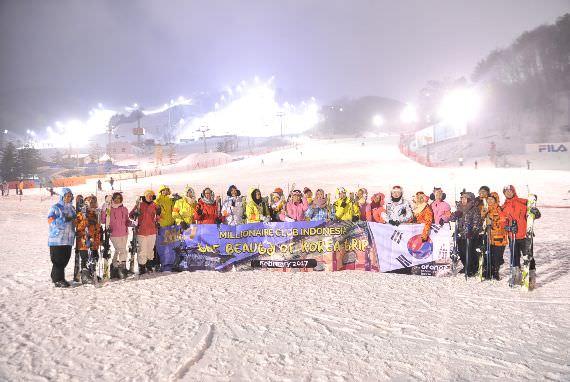 Grup Insentif Skala Besar dari Indonesia Berkunjung ke Korea