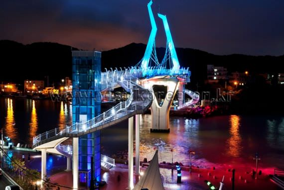 Beautiful Myeongseon Bridge