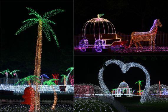 Taman Gwangju Uchi akan Menyala dengan Lampu-lampu