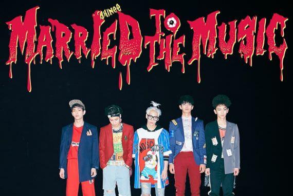 SHINee akan Rilis Repackaged Album 'Married to the Music' Tanggal 3 Agustus Mendatang