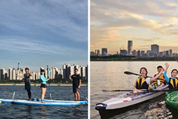 Nikmati Olahraga Air Dinamis di Sungai Han