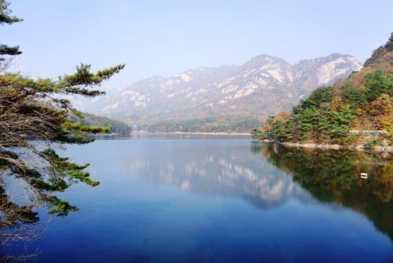 Perjalanan ramah lingkungan ke kota danau, Pocheon