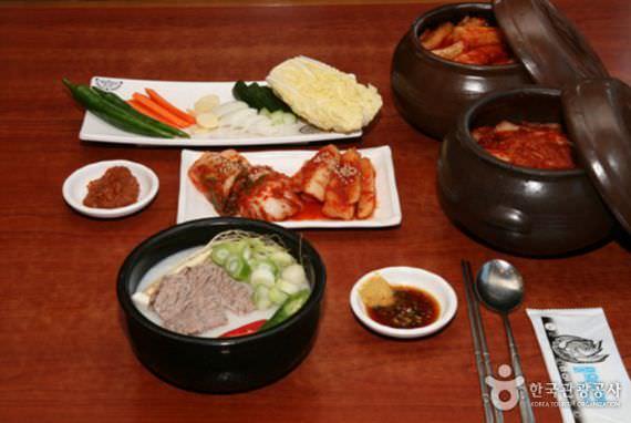Restoran Sup Sapi Jonggajip Seolleongtang