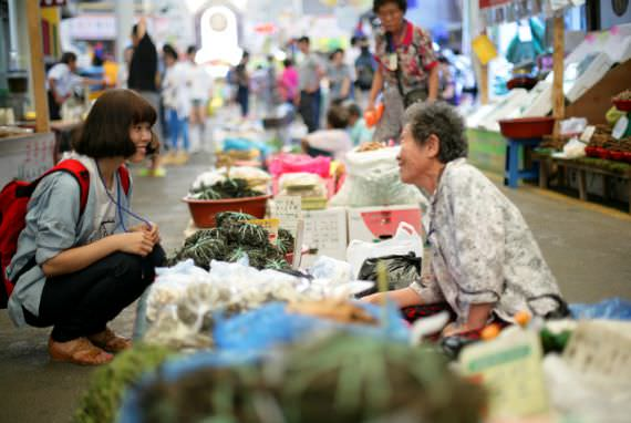 Pasar 5 Hari Jeongseon Arirang