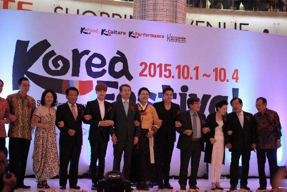 Pembukaan Korea Festival 2015