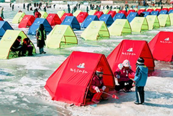 Festival Musim Dingin Pyeongchang – Menangkap Ikan Trout & Bermain Salju!