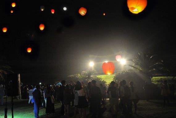 Penyelenggaraan Festival Moonlight Walk di Jeju, Korsel