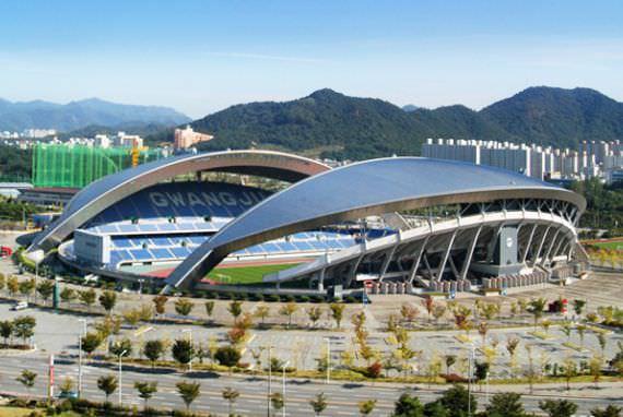 Stadion Musim Panas Utama Gwangju Universiade 2015