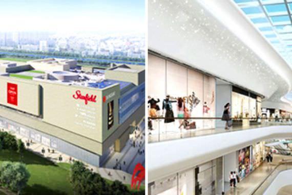 Pembukaan Kompleks Hiburan dan Belanja Starfield Goyang