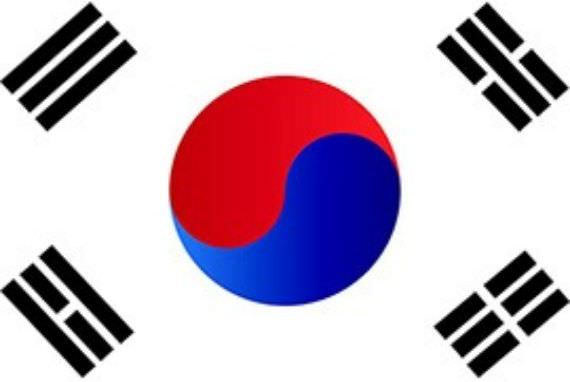 Bendera National Korea