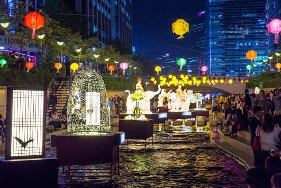 Parade Lentera Teratai di Festival Lentera Teratai 2016