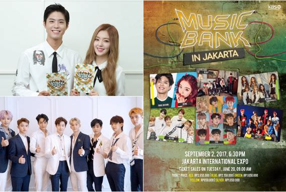 Detail Harga Tiket 'Music Bank' di Jakarta Rilis, Siap Bertemu Idol Impian?