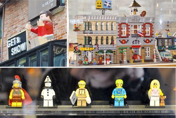Get & Show Cafe (Lego Cafe)