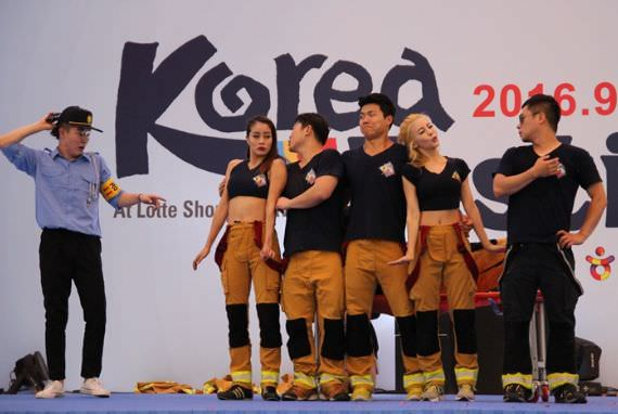 'Fireman' di Pembukaan Hari ke-2 Korea Festival 2016