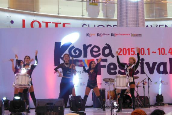 Korea Festival 2015, Irama Penuh Dentuman dari DrumCat