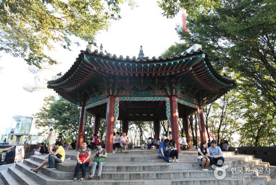Namsan Octagonal Pavilion