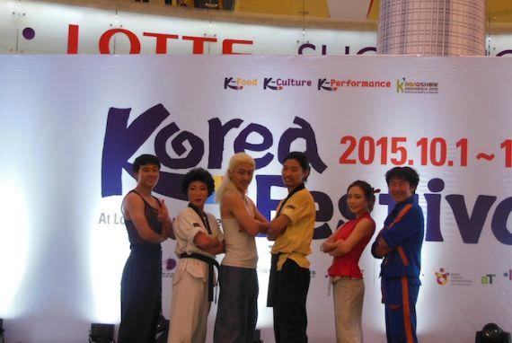 Korea Festival 2015, JUMP dan Seni Bela Diri yang Mengundang Tawa Para Penonton