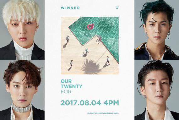 WINNER Kembali Bawa 'Angka Keramat' 4 di Comeback Album Baru 'Our Twenty For'