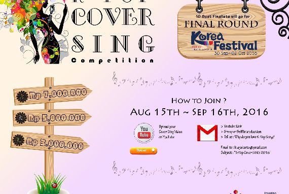 KOMPETISI K-POP COVER SING 2016