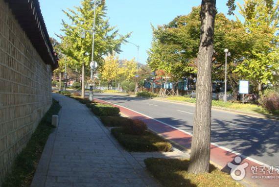 Jalan di Depan Cheongwadae (Blue House)