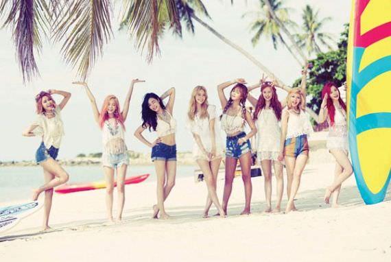 SNSD Sapu Bersih Tangga Lagu dengan Lagu 'Party'